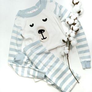 Hanna Andersson 2 Piece Pajama Set Size 8